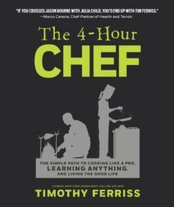 9.The 4-Hour Chef by Tim Ferriss