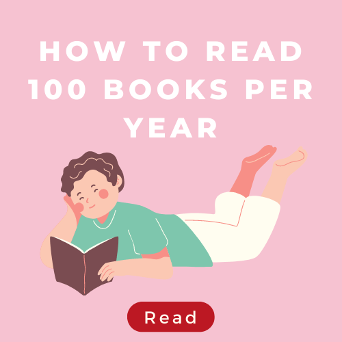how to read 100 books per year