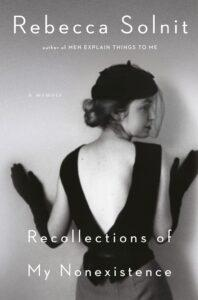 books every feminist should read 4. Recollections of My Nonexistence by Rebecca Solnit