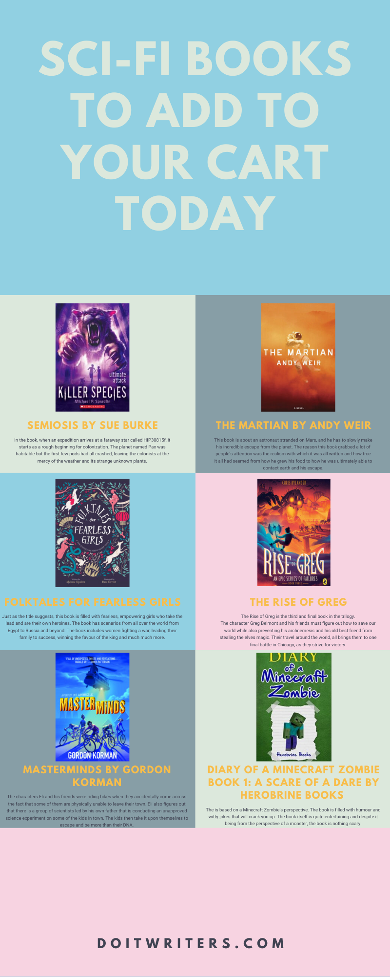 10 Sci-Fi Books To Add To Your Cart Today