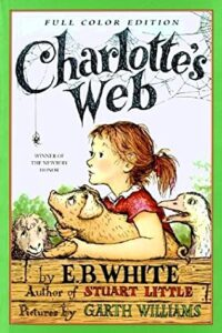 Charlotte's Web by E.B White- book recommendations by Taylor Swift