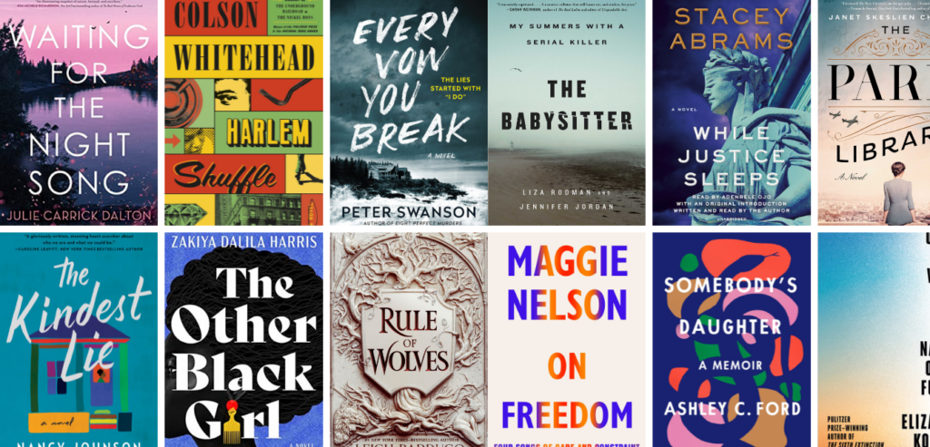New Book Releases to Read in 2021