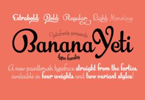 Banana Yeti