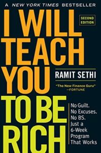 I Will Teach You to Be Rich by Ramit Sethi - book recommendations