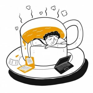 man sleeping - How To Make Time For Writing