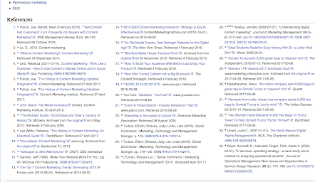Wikipedia screenshot - 8 Ways To Conduct Research For Your Blog Posts